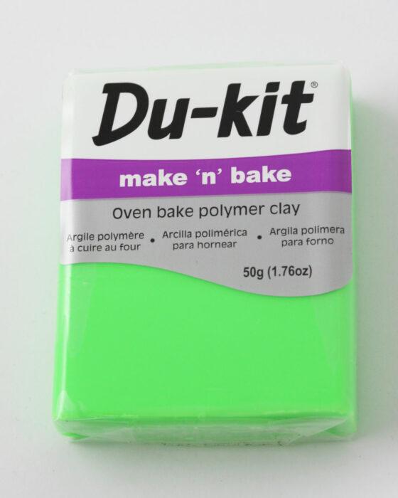 Du-Kit polymer clay 50g Fluo Green
