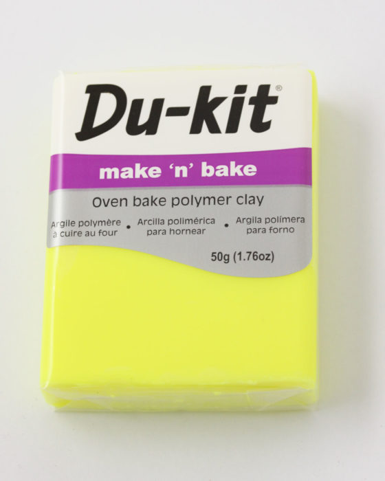 Du-Kit polymer clay 50g Fluo Yellow