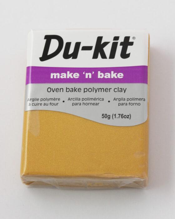 Du-Kit polymer clay 50g Gold