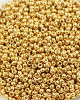 toho seed bead #11 galvanized starlight