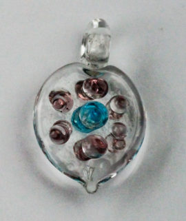 Handmade Heart Pendant - Sold per pack of 4 ( 1=4 pieces )