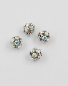 Swarovski ball shape 8mm crystal AB