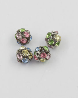 Swarovski ball shape 8mm multi-colored