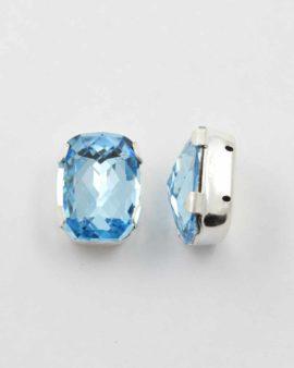 Swarovski crystal baguette aquamarine