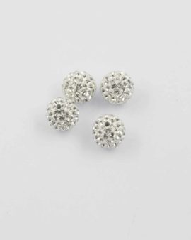 Swarovski pave ball 8mm crystal