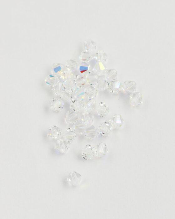 Swarovski crystal bicone 5mm Crystal AB