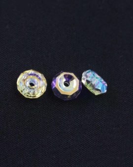 Swarovski crystal rondelle crystal AB 6mm