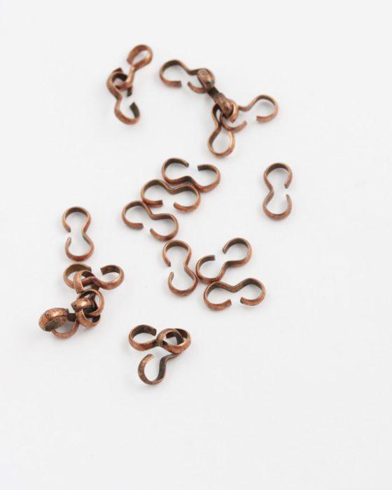 chain link 5x10mm antique copper