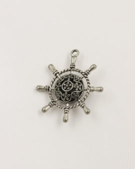 steering wheel pendant antique silver