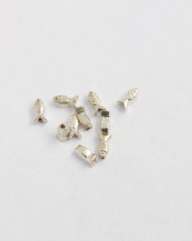 sterling fish shaped beads