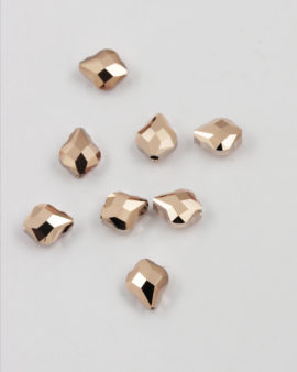 swarovski baroque bead 10mm rose gold