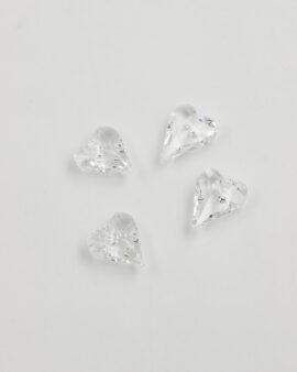 Swarovski Crystal Wild Heart Pendant 17mm