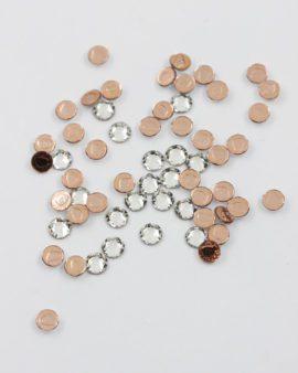 Swarovski hotfix silver foiled SS 16 crystal