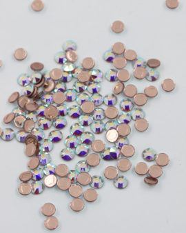 Swarovski hotfix silver foiled SS 16 crystal AB