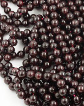 garnet beads 8mm