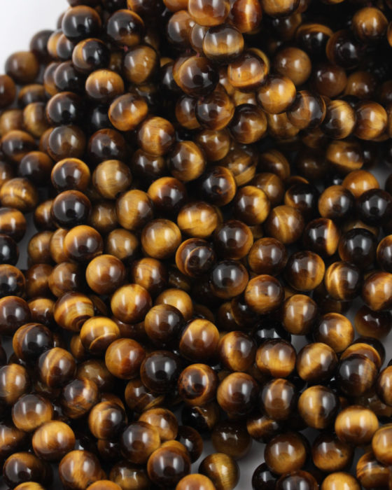 tiger eyes 8mm beads