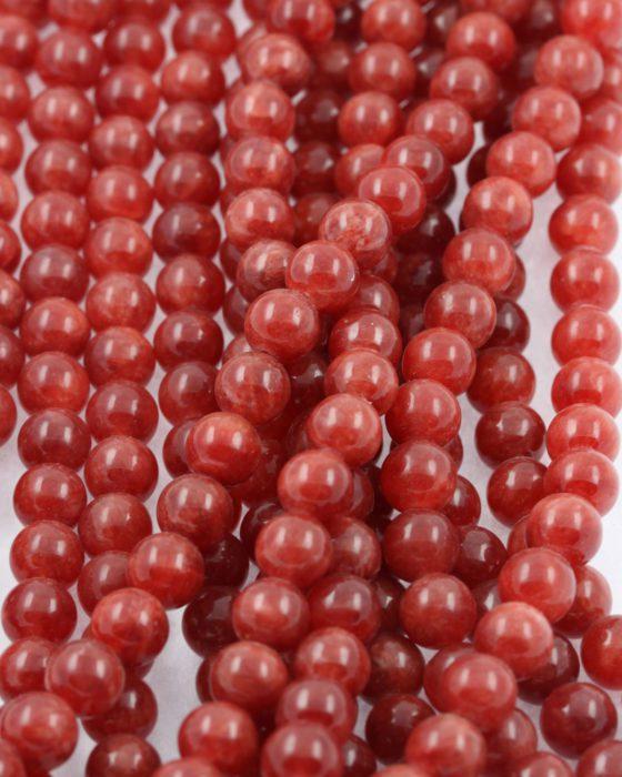 jasper beads brown