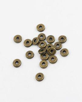 washer spacer antique brass