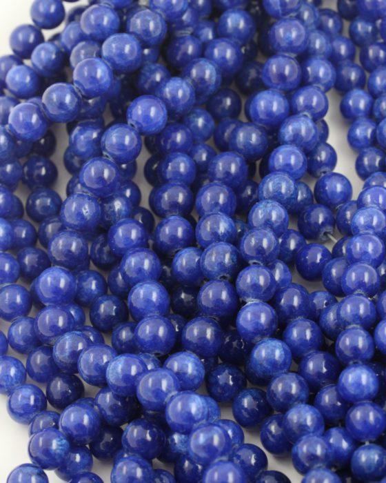 jasper beads 8mm royal blue