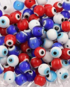 evil eye beads 8mm