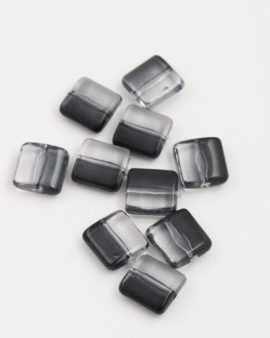 Resin Square 12x12mm Black