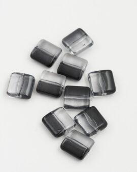 Resin Square 12x12mm Black