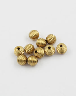 Brass bead 8mm