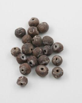Ceramic Beads 10mm Brown