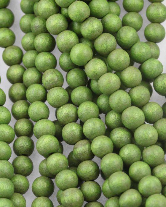 Wooden beads 8mm Green