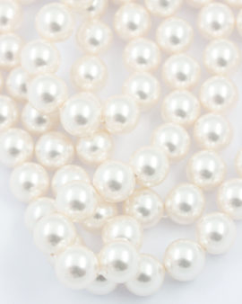 Swarovski crystal pearls 12mm white