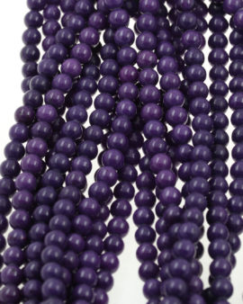 calcite beads purple