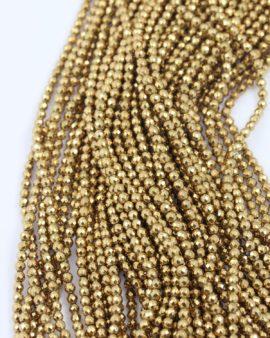 hematite gold 3mm