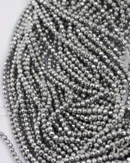 hematite silver 3mm