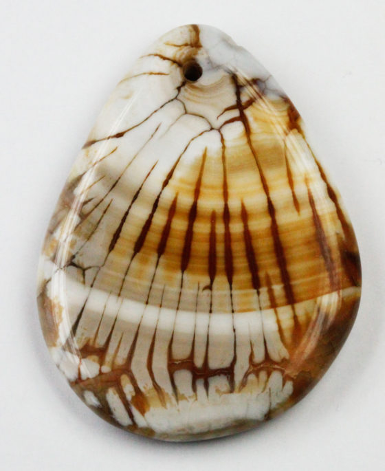 Dyed Agate Pendant