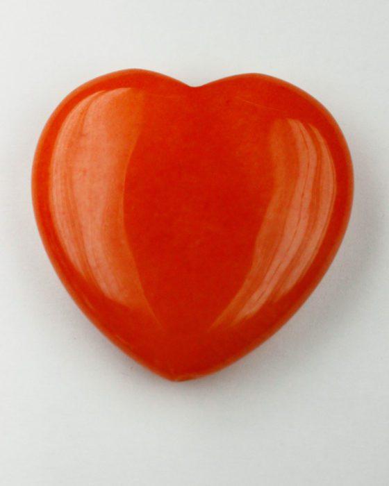 jade heart orange