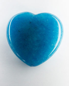 jade heart blue