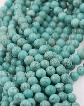howlite beads 8mm turquoise
