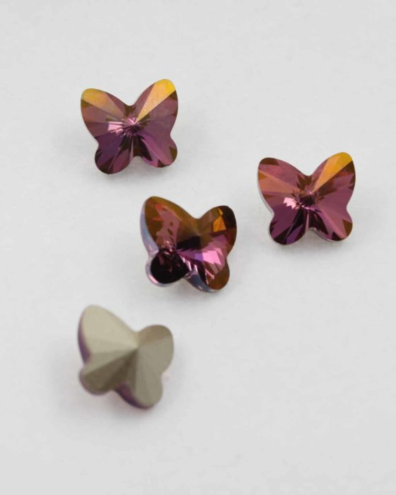 Swarovski rivoli butterfly lilac shadow 10mm