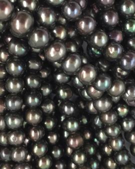 freshwater pearls 7-8mm brown