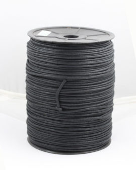 Black Cotton Cord 2mm