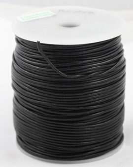 leather cord 1.5mm black