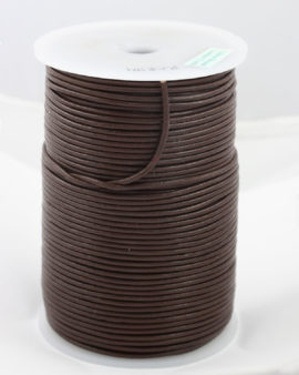 leather cord 2mm brown