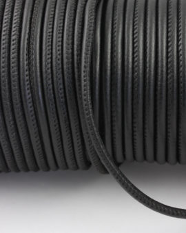 nappa leather cord 4mm black
