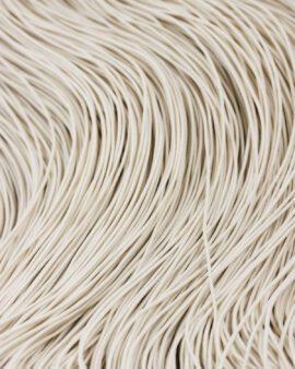 elastic cord 1mm off white