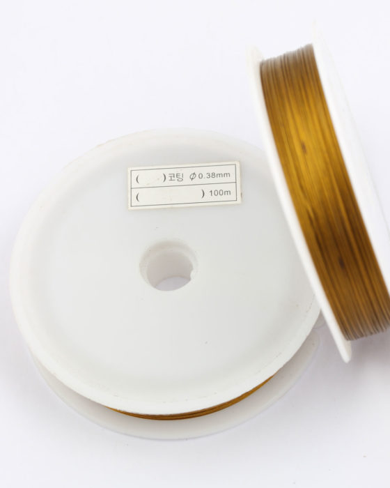 tigertail wire .38mm gold
