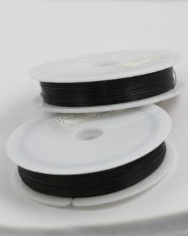Tigertail wire 0.38mm Black
