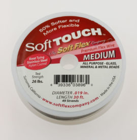 Soft Touch Beading Wire - Medium  - Sold by the Roll