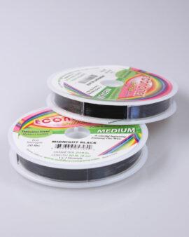 econoflex wire .019 inch minight black medium