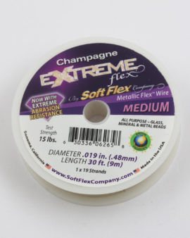 extreme flex wire champagne medium