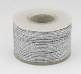 Woven & Waxed Cord with Sparkle effect - Sold by the Roll